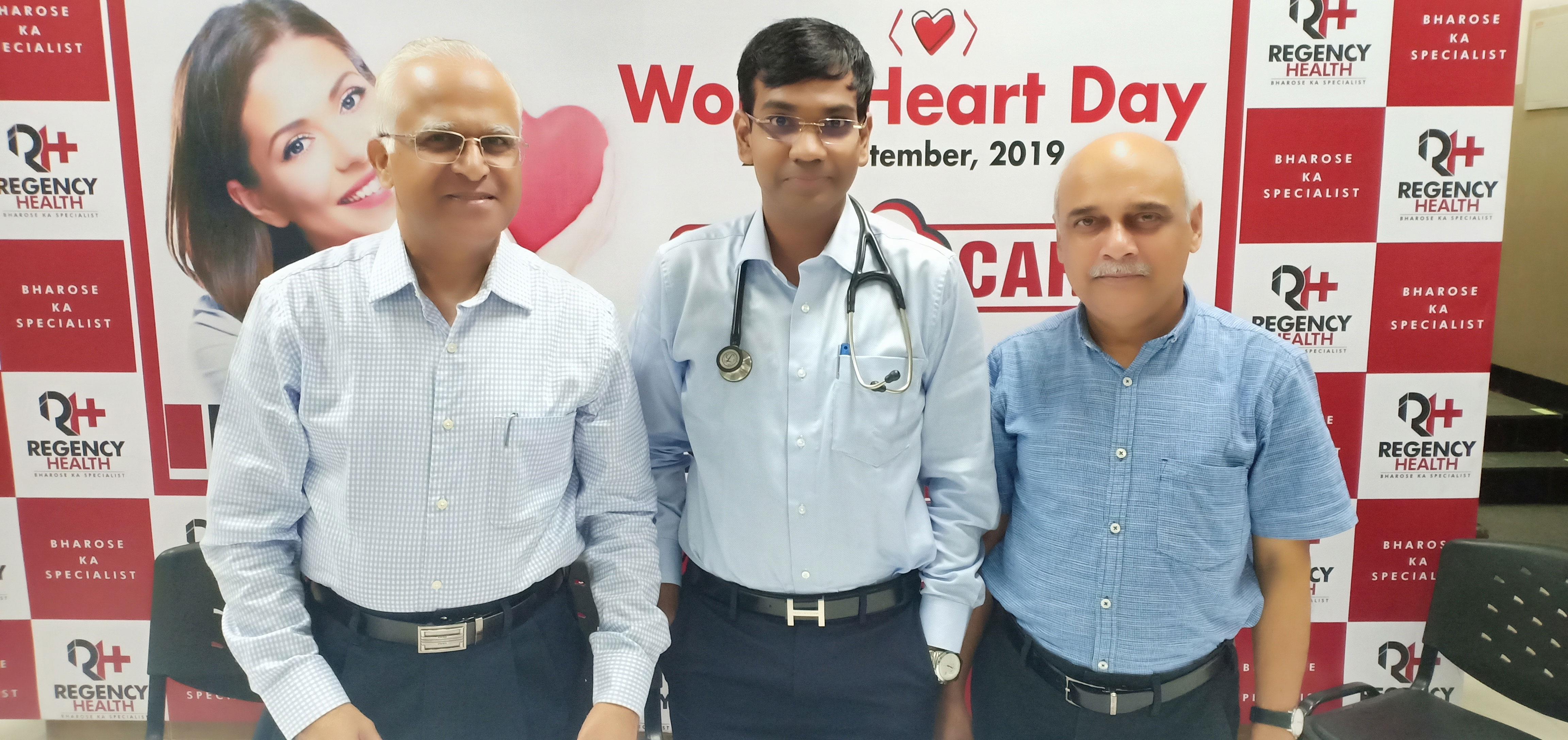 Doctor speaker panel on World Heart day 2019