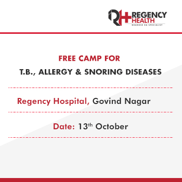 Free camp on 13 October at Regency Health