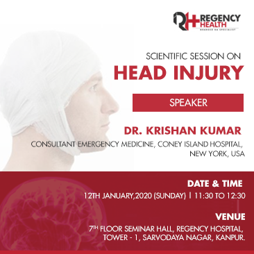 Scientific session at regency health on head injury